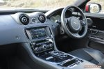 2014 2015 Jaguar XJR full road test review report blogger automotive writer freelance published motoring journalist Oliver Hammond photographer Isabel Carter - photo dashboard