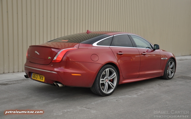 2014 2015 Jaguar XJR full road test review report blogger automotive writer freelance published motoring journalist Oliver Hammond photographer Isabel Carter - rear 34