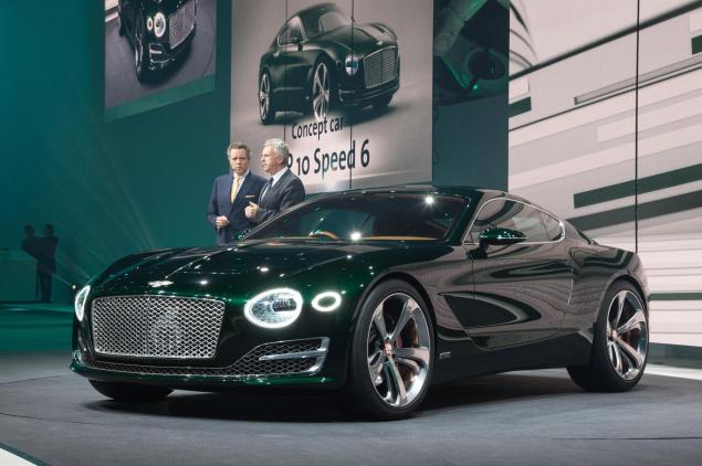 Geneva Motorshow 2015 Bentley EXP 10 Speed 6