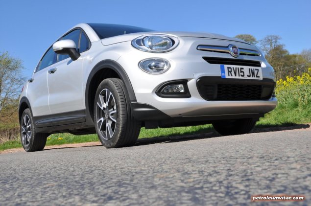 Fiat 500X UK launch first drive road test review report wallpaper photo by journalist Oliver Hammond for Petroleum Vitae blog 01