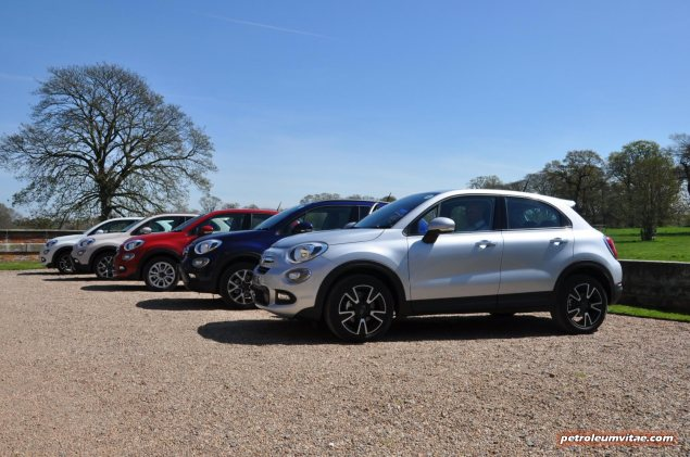 Fiat 500X UK launch first drive road test review report wallpaper photo by journalist Oliver Hammond for Petroleum Vitae blog 04