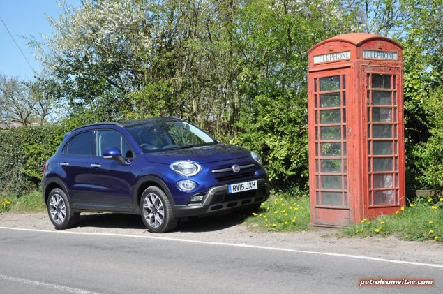 Fiat 500X UK launch first drive road test review report wallpaper photo by journalist Oliver Hammond for Petroleum Vitae blog 07