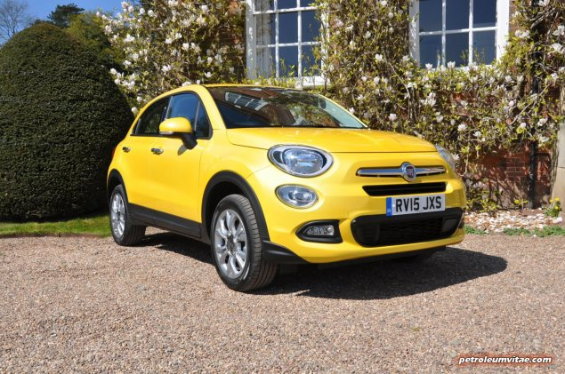 Fiat 500X UK launch first drive road test review report wallpaper photo by journalist Oliver Hammond for Petroleum Vitae blog 09