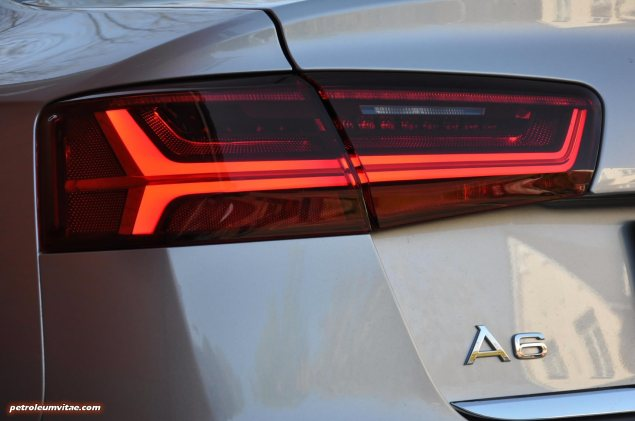 2015 Audi A6 Ultra 2.0 TDI S tronic full road test review Manchester blogger motoring automotive journalist Oliver Hammond, wallpaper photo - LED lights