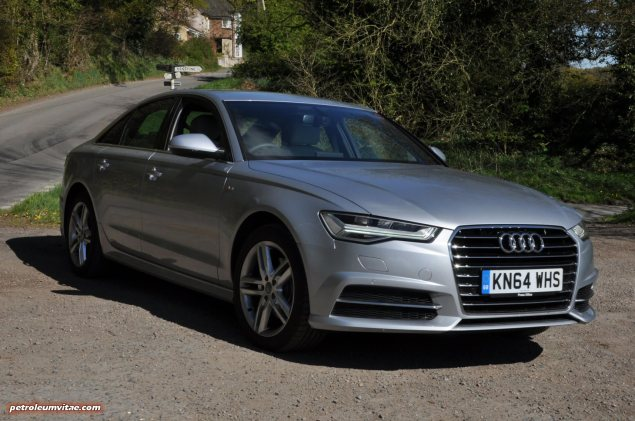 2015 Audi A6 Ultra 2.0 TDI S tronic full road test review Manchester blogger motoring automotive journalist Oliver Hammond, wallpaper photo - saloon