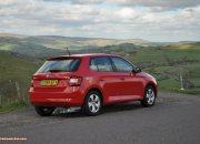 2015 new third gen Skoda Fabia hatchback 1.4 TDI SE full road test review evaluation motoring journalist Oliver Hammond - wallpaper photo - rear 34b