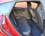 Tesla Model S 85 rear full road test review freelance journalist blogger Oliver Hammond - wallpaper image gallery - five rear seats bench space