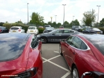 Tesla Model S 85 rear full road test review freelance journalist blogger Oliver Hammond - wallpaper image gallery - owners club