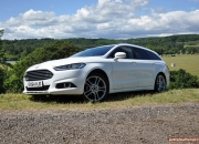All-new 2015 Mk5 Mark V Ford Mondeo estate Titanium 2.0 Duratorq road test review blog journalist writer Oliver Hammond photos images handling engines litres practical boot rivals Mazda Skoda Passat 02