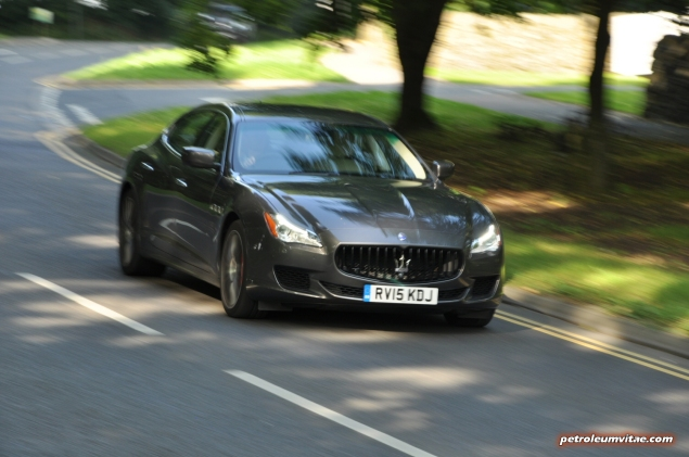 2014-15 6th generation Maserati Quattroporte GTS road test review report compare rivals blog journalist Hammond gallery photos wallpaper spec - driving4