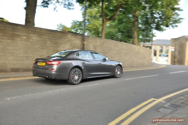 2014-15 6th generation Maserati Quattroporte GTS road test review report compare rivals blog journalist Hammond gallery photos wallpaper spec - driving6