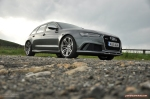 2015 Audi RS6 C7 Avant full road test review report group test comparison M5 E63 XFR-S Sportbrake estate journalist writer motoring freelance Hammond blogger wallpaper - front 34d