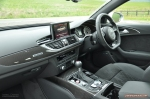 2015 Audi RS6 C7 Avant full road test review report group test comparison M5 E63 XFR-S Sportbrake estate journalist writer motoring freelance Hammond blogger wallpaper - interior
