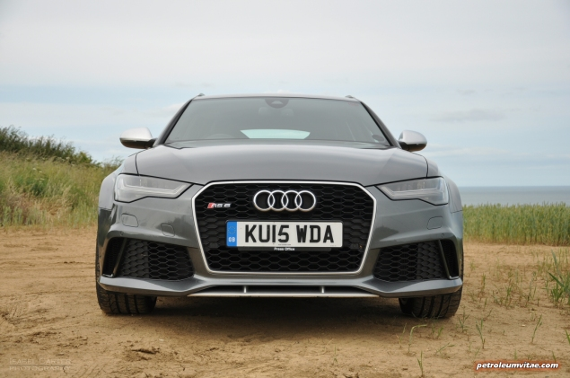 2015 Audi RS6 C7 Avant full road test review report group test comparison M5 E63 XFR-S Sportbrake estate journalist writer motoring freelance Hammond blogger wallpaper - quattro grille