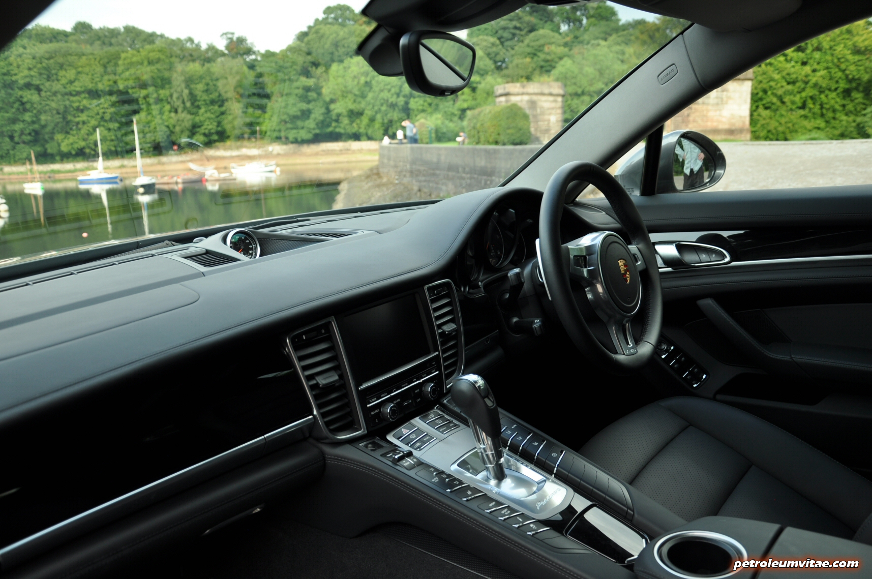 2015 porsche panamera diesel road test review comparison journalist blogger oliver hammond magazine wallpaper photo