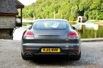 2015 Porsche Panamera Diesel road test review comparison journalist blogger Oliver Hammond magazine - wallpaper photo - rear