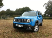 Jeep Renegade first drive review, SMMT North 2015 - photo 2