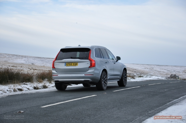 New Volvo XC90 D5 Inscription road test review, Oliver Hammond, Petroleum Vitae - exterior2