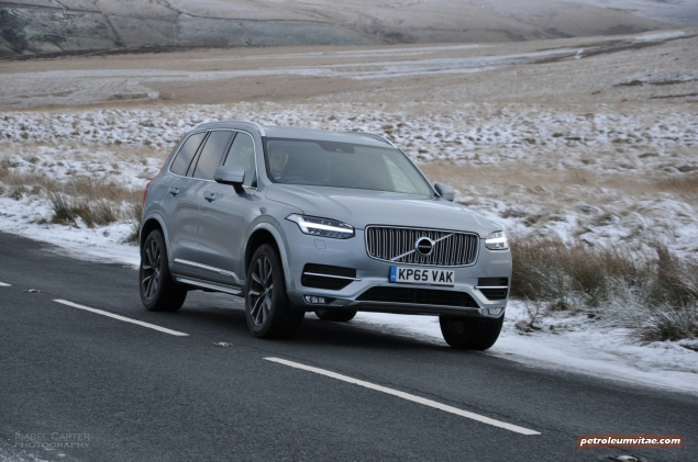 New Volvo XC90 D5 Inscription road test review, Oliver Hammond, Petroleum Vitae - exterior3