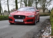 Jaguar XE S road test review - image, front 02