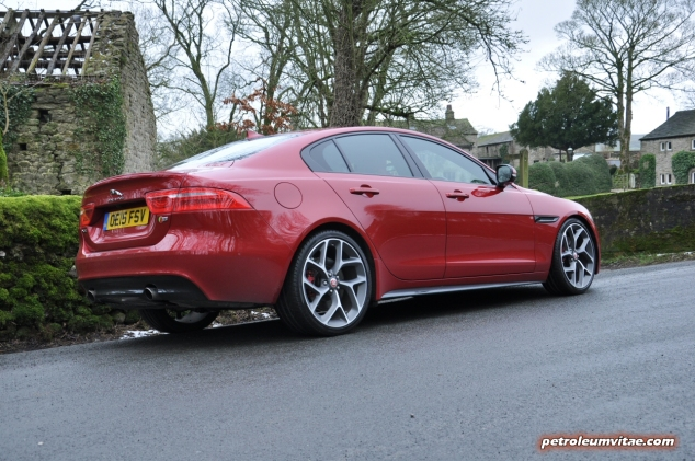 Jaguar XE S road test review - image, rear