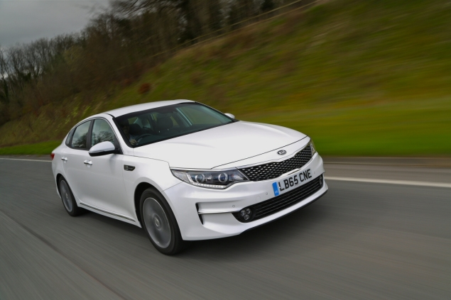 All-new Kia Optima 4 DCT road test review Oliver Hammond - driving