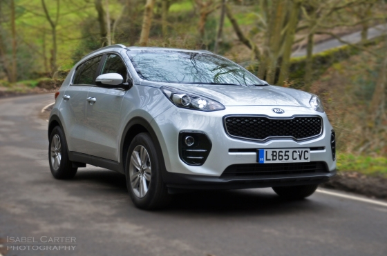 New Kia Sportage crossover - road test review - wallpaper gallery photo - front2