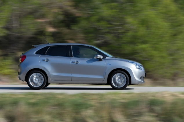 Suzuki Baleno Boosterjet manual SZ5 full road test review Hammond - driving