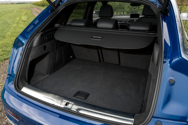 Audi RS Q3 performance road test review photo - boot space litres