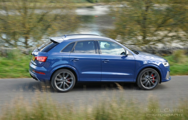 Audi RS Q3 performance road test review photo - side3