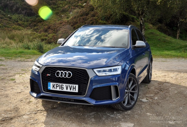 Audi RS Q3 performance road test review photo - static2