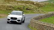 Jaguar F-Pace 2.0d R-Sport AWD road test review photo wallpaper - front