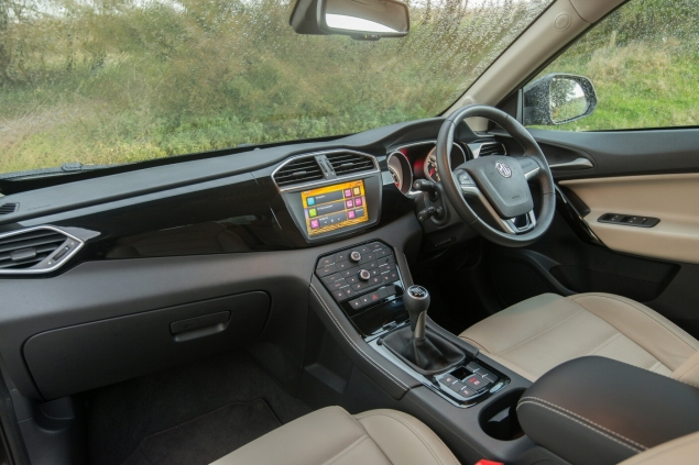 MG GS Exclusive manual road test review UK - interior 1