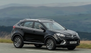 MG GS Exclusive manual road test review UK - motion