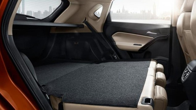 MG GS SUV boot space practicality families