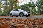 Road test review of new 2016 Honda HR-V 1.6 i-DTEC EX manual - side