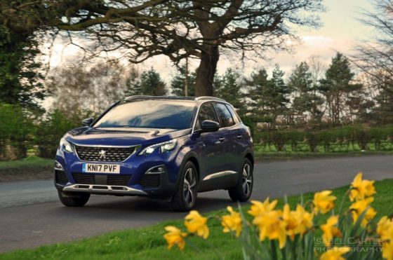 New-Peugeot-3008-crossover-SUV-road-test-review-1.2-petrol-manual-GT-Line-Magnetic-Blue-photo-04