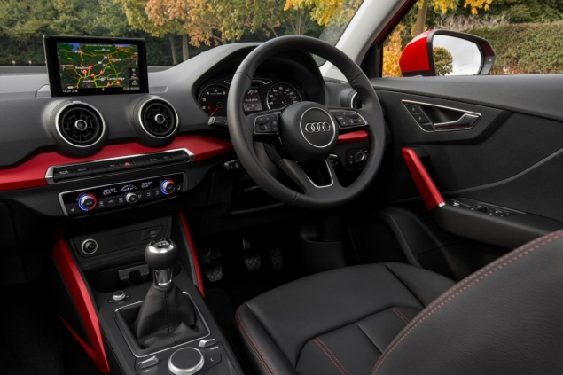 Audi Q2 2.0 TDI quattro S tronic 150PS road test review wallpaper gallery UK leasing deals offers PCH - interior 1