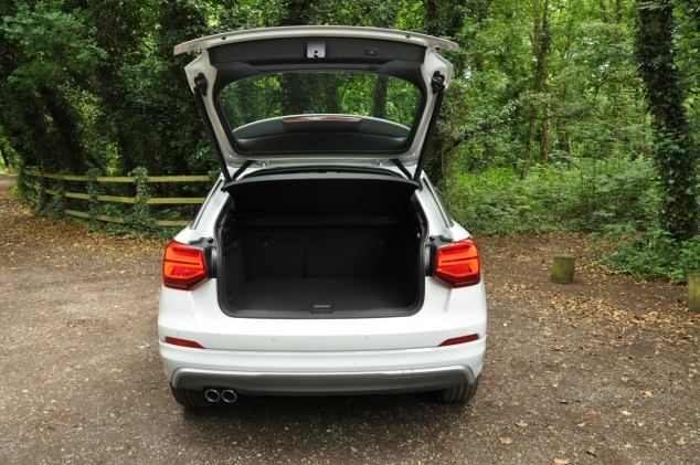 Audi Q2 2.0 TDI quattro S tronic 150PS road test review wallpaper gallery UK leasing deals offers PCH - Oliver Hammond boot space dimensions size litres