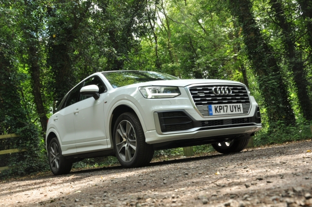Audi Q2 2.0 TDI quattro S tronic 150PS road test review wallpaper gallery UK leasing deals offers PCH - Oliver Hammond front 34