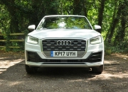 Audi Q2 2.0 TDI quattro S tronic 150PS road test review wallpaper gallery UK leasing deals offers PCH - Oliver Hammond front grille