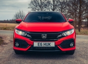2017 Honda Civic 1.0 VTEC Turbo EX manual road test review - front 34