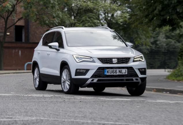 seat ateca 1 4 tsi dsg xcellence road test spain s suv debutant put through its paces. Black Bedroom Furniture Sets. Home Design Ideas