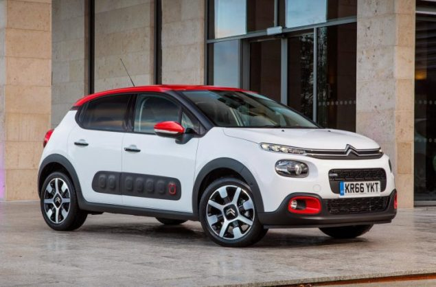 Danni Bagnall motoring writer road test review new Citroen C3 Flair - front 34
