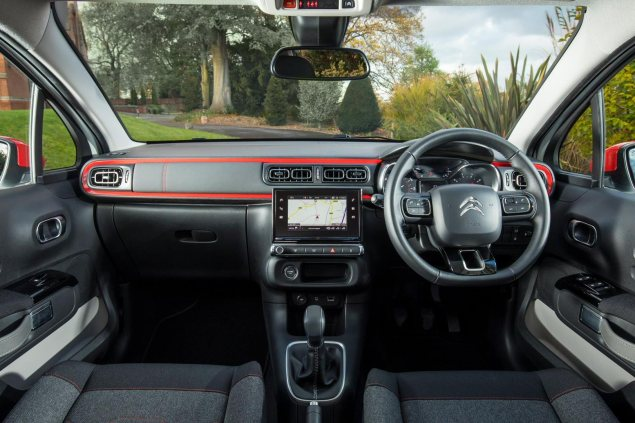 Danni Bagnall motoring writer road test review new Citroen C3 Flair - interior