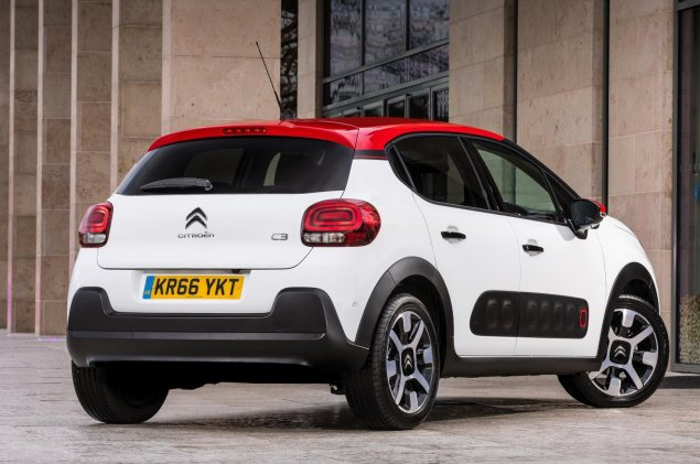 Danni Bagnall motoring writer road test review new Citroen C3 Flair - rear 34