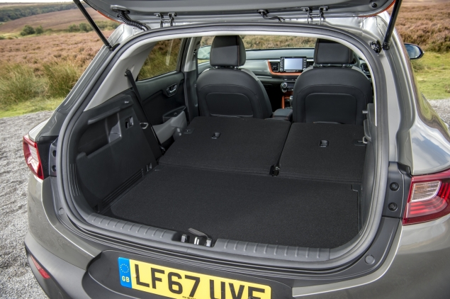 Kia Stonic review Danni Bagnall motoring writer journalist - boot