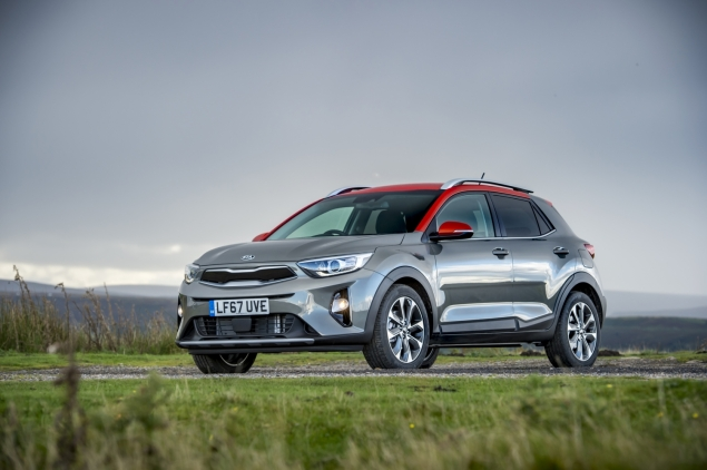 Kia Stonic review Danni Bagnall motoring writer journalist - front