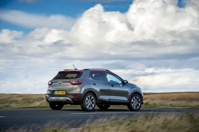 Kia Stonic review Danni Bagnall motoring writer journalist - rear
