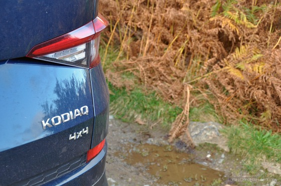Skoda Kodiaq 4x4 7-seat SUV road test review UK - badge
